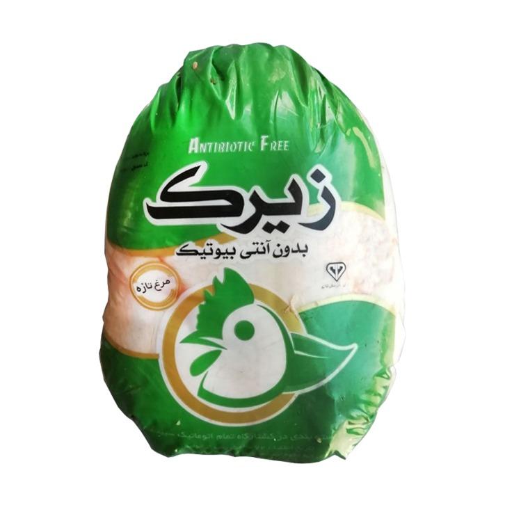 مرغ سبز زیرک